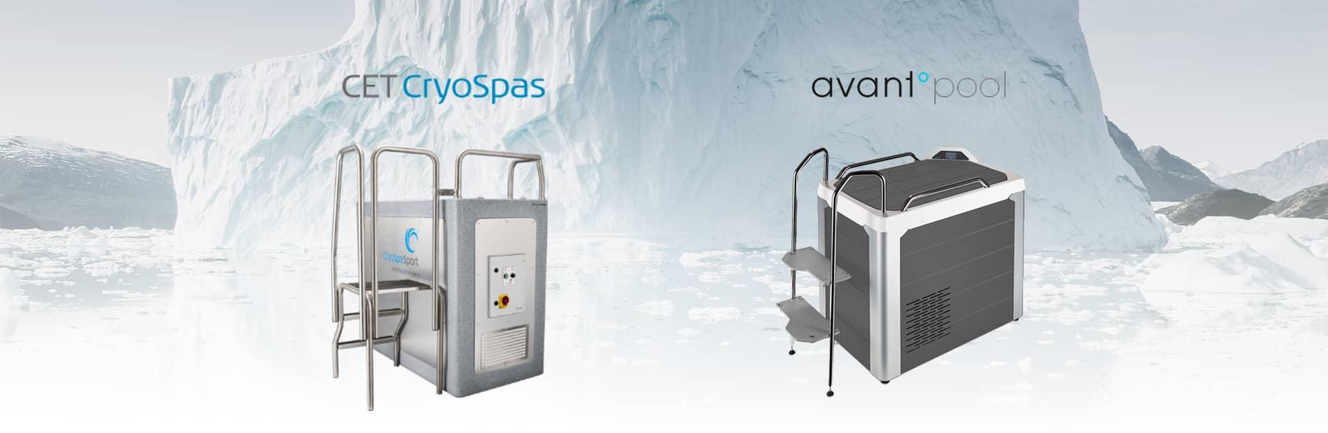 Bazine cu apa rece bai de gheata CET CryoSpas Avantopool