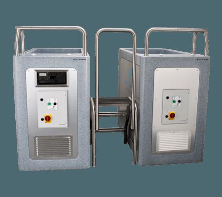 Contrast termic bazine cu apa rece (bai de gheata) CET ContrastSpa Duo