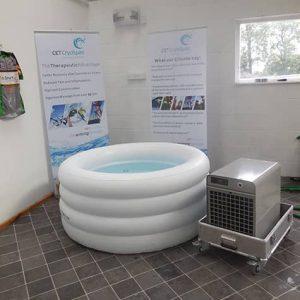 CET ColdSpa Inflatable bazine cu apa rece gonflabil
